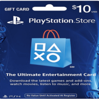 PS4 dopuna kredita $10 USA nalog za PS4